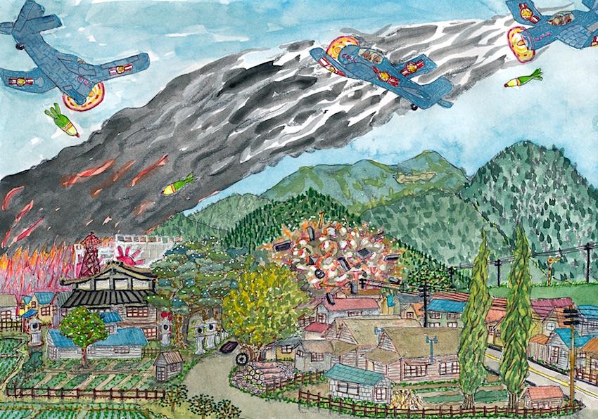 野内村が攻撃される(Nonai  village is attacked)