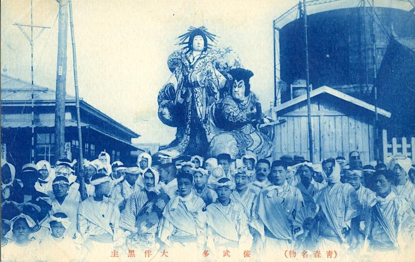 大正時代の歌舞伎ねぶた