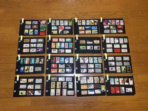 柿崎勝さん所蔵のマッチコレクションの一部
